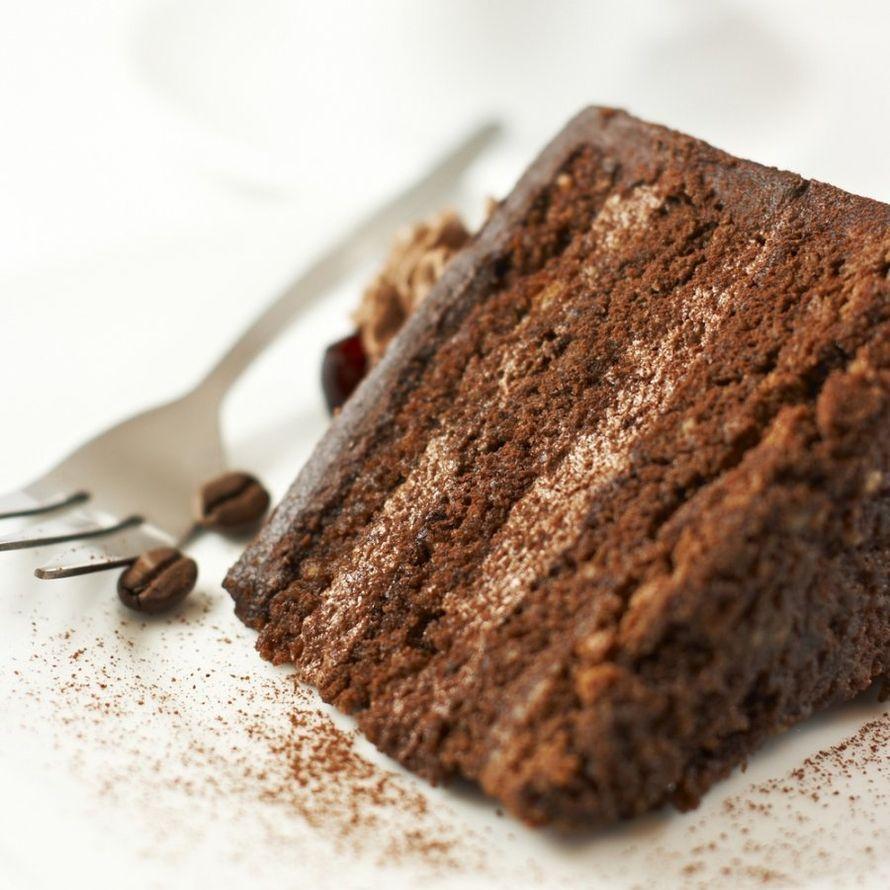 Торт Трюфель Очень шоколадный торт из шоколадного бисквита и шоколадного крема с итальянским какао Бэри, кофейная пропитка. - фото 14338840 Авторские торты от Анны Мочаловой