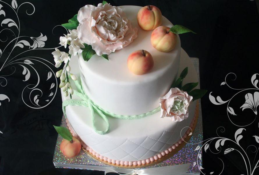 Фото 14338858 в коллекции Свадебные торты - Авторские торты от Анны Мочаловой