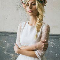 "Photo: Юля Остапко Md: Maria Flowers: Мария Пиморенко Dress: Шоу-рум ""ГОРОШИНА"""