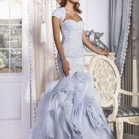 "Платье ""Hollywood""   Цвет: white, ivory, aqua, mint, powder Размер: 40-52 Ткани: прокатный атлас, ай-пэк, хаяль-тюль Декор: гипюр"