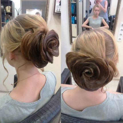 Причёска и макияж для подруг невесты