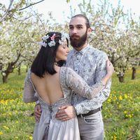 Рузанна и Иван.  Апрель 2017 г. Свадебные фотосессии и love story 89085058616