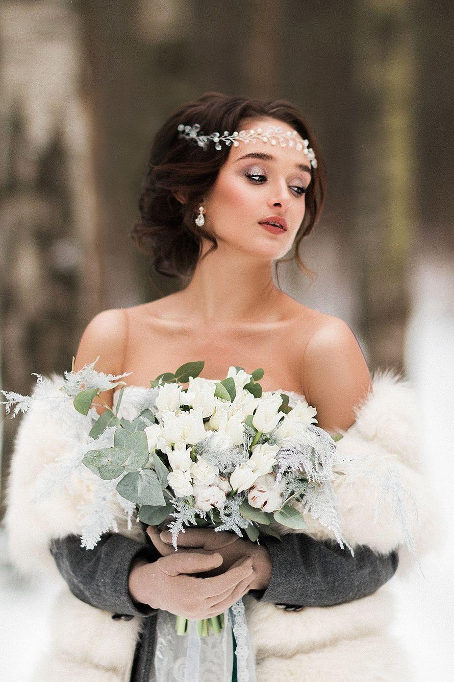 Фотограф:  Невеста и жених:   Образ невесты: я  Платье:  Флористика:  - фото 16551716 Стилист Екатерина Харченко