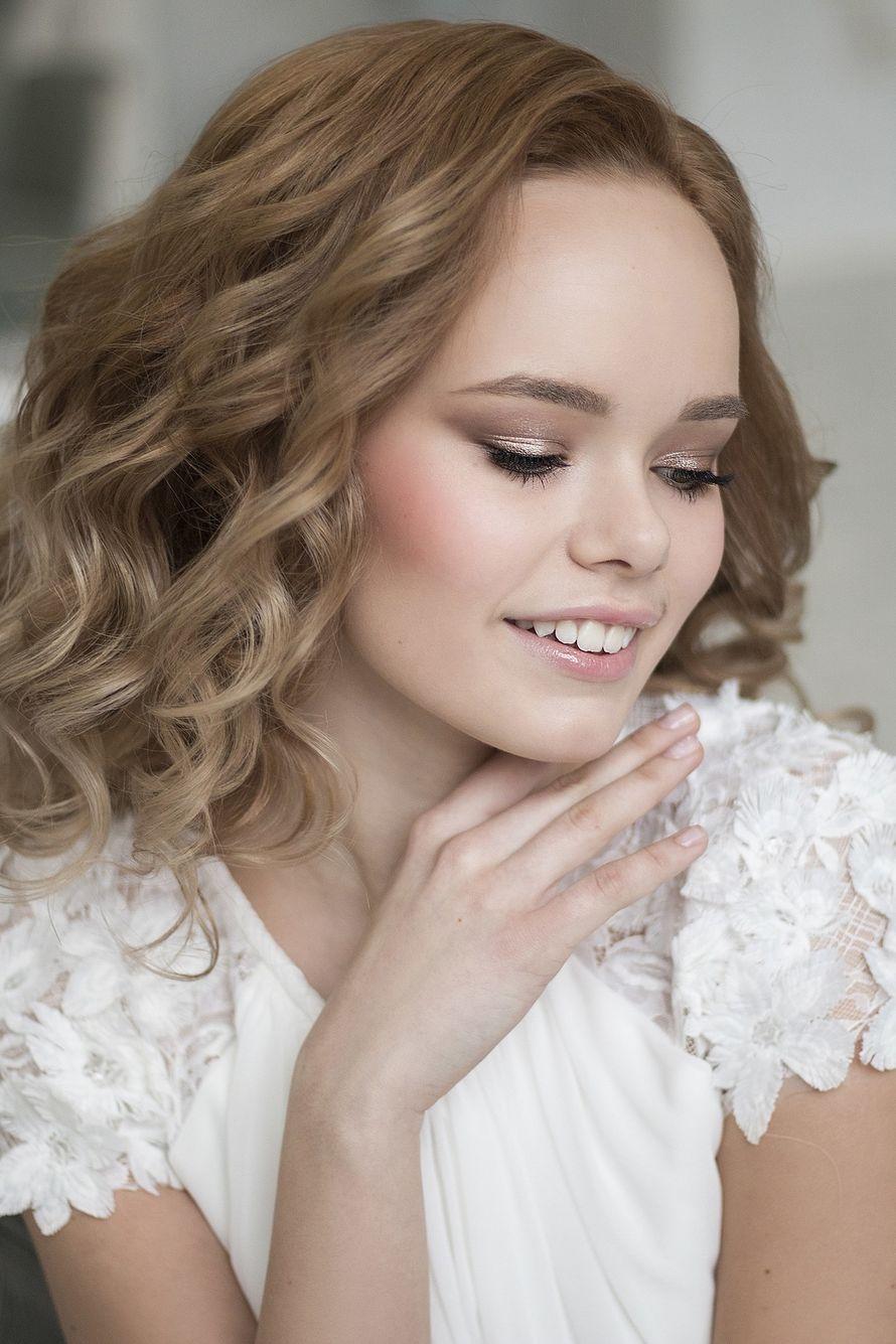 Фотограф:  Невеста:  Визаж и прическа: я Платье:  - фото 16551744 Стилист Екатерина Харченко