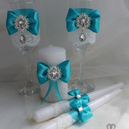 Свадебный набор аксесуаров