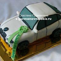 BMWX6, 3кг, внутри чизкейк рафаэлло