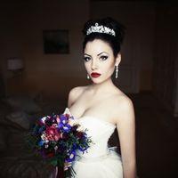 Модель - [id29782129|София] Hair, MUA -  [id88612040|Евгения Авдеева] Букет -  Платье, корона, серьги -