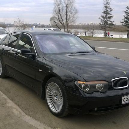 Аренда авто BMW 735, цена за 1 час