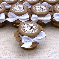Медовые бонбоньерки с лентами, цена за 1 шт