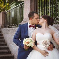 Жених и невеста. Свадебная прогулка в Летнем саду
