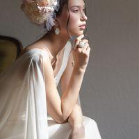 Нежный весенний образ невесты