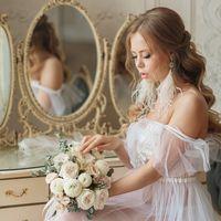Букет невесты. Утро невесты в будуарном стиле