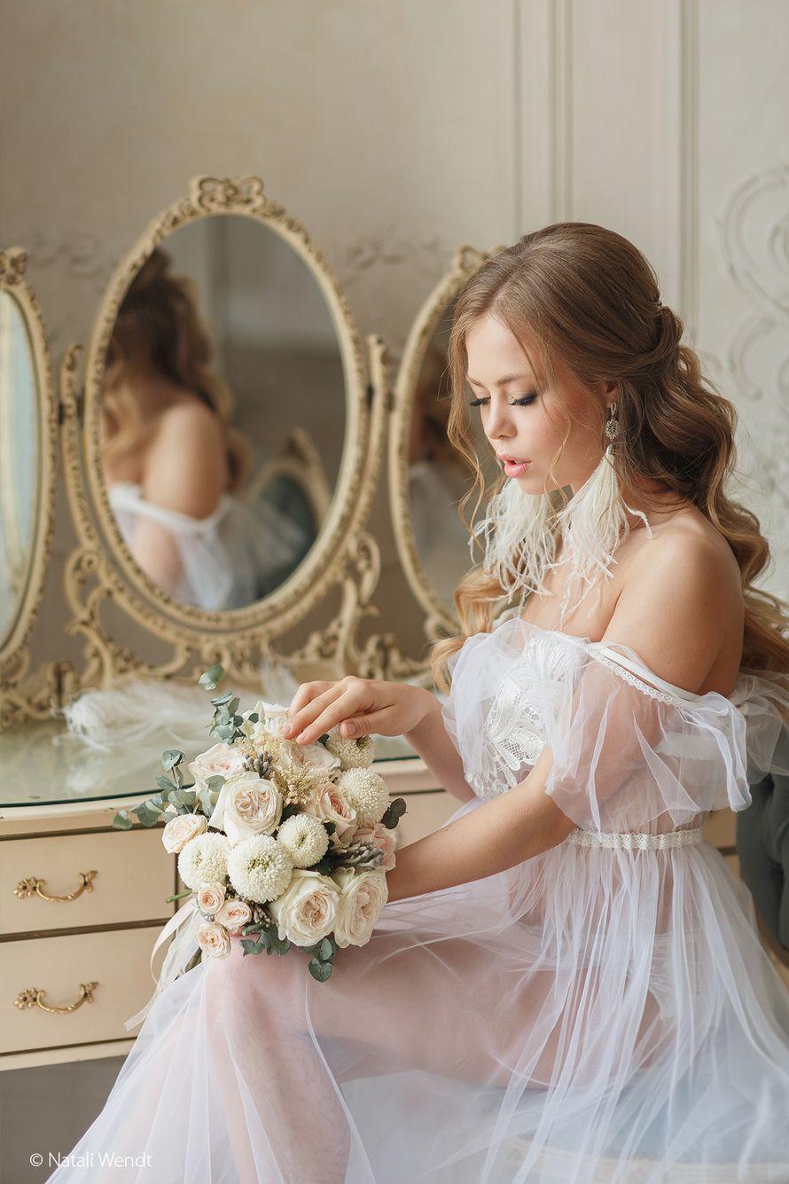 Букет невесты. Утро невесты в будуарном стиле - фото 17701834 Фотограф Наталья Вендт