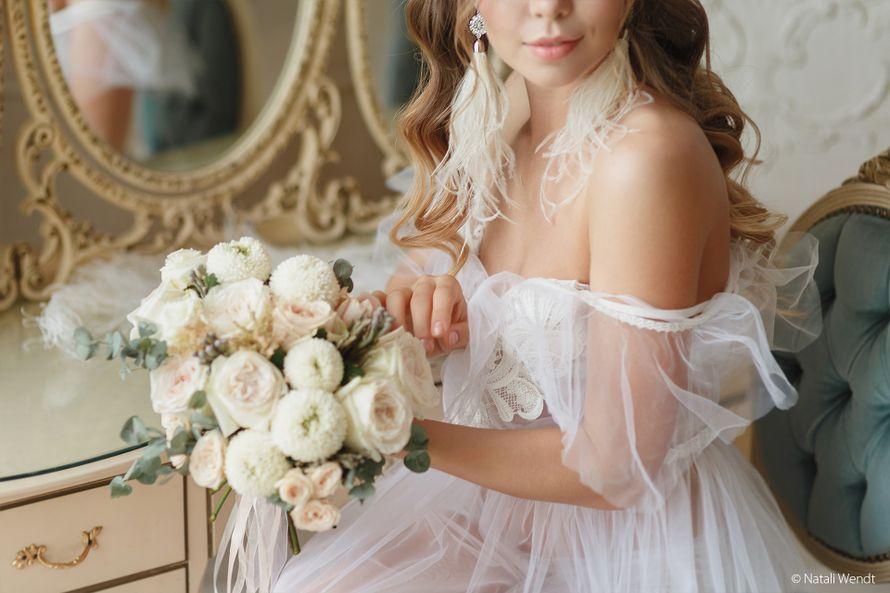 Зефирный букет невесты - фото 17701868 Фотограф Наталья Вендт