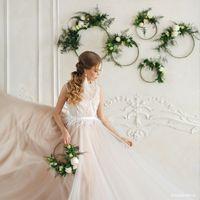 Летящее платье невесты