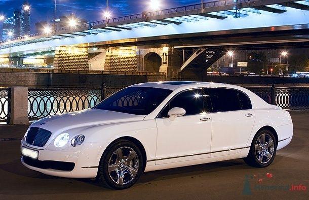 Bentley Flying Spur - фото 34845 Black and White Cars - аренда лимузинов