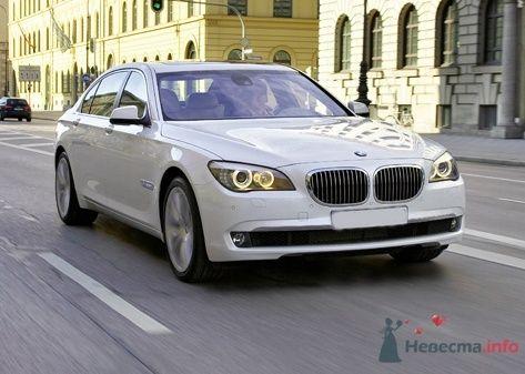 BMW 730 D 2009 г.в. White  - фото 35673 Black and White Cars - аренда лимузинов