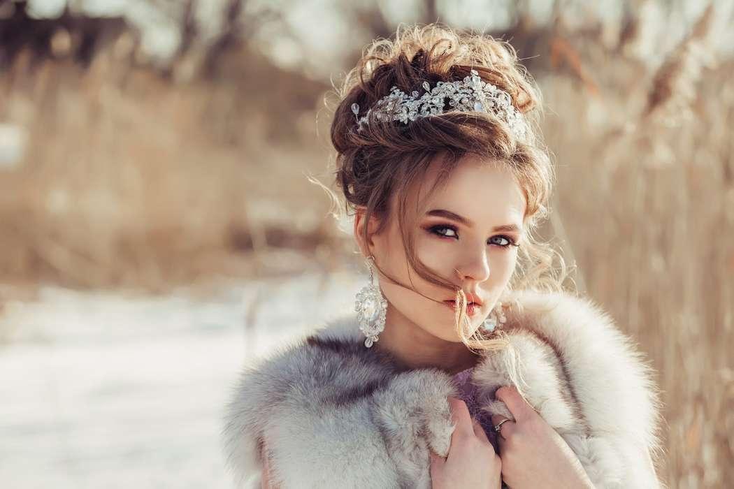 Даже зимой невесты прекрасны.... Фотограф Анастасия Андрешкова - фото 14686466 Фотограф Андрешкова Анастасия