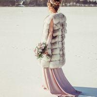 Даже зимой невесты прекрасны.... Фотограф Анастасия Андрешкова