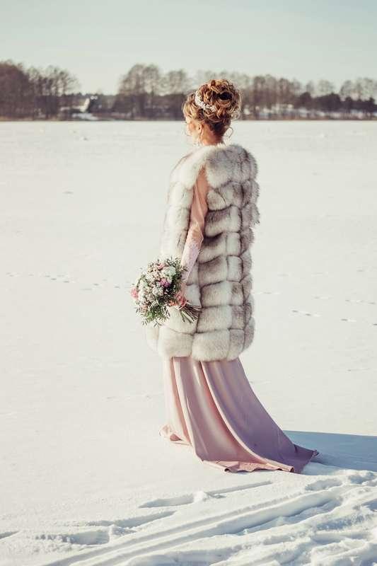 Даже зимой невесты прекрасны.... Фотограф Анастасия Андрешкова - фото 14686468 Фотограф Андрешкова Анастасия