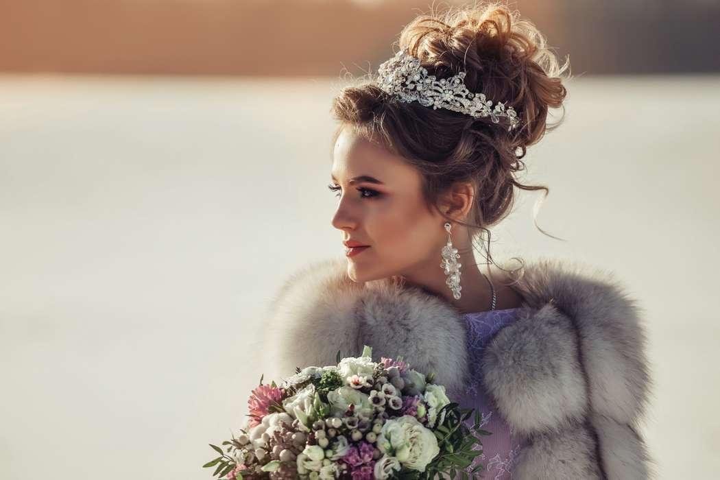 Даже зимой невесты прекрасны.... Фотограф Анастасия Андрешкова - фото 14686472 Фотограф Андрешкова Анастасия