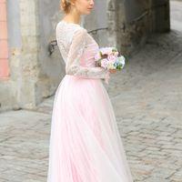 """Свадебное платье """"Рубиновый ангел"""""""