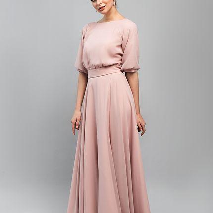 """Свадебное платье """"Богемный рубин"""""""