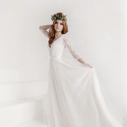 """Свадебное платье """"Романтичное сердце"""""""
