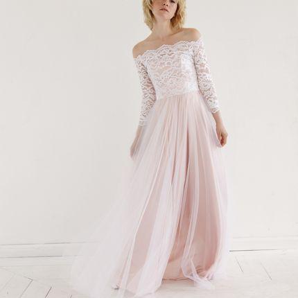 """Свадебное платье """"Розовый сад"""""""