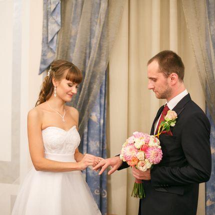Видеосъёмка (Full HD) + монтаж церемонии бракосочетания