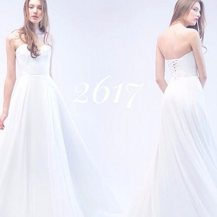 Свадебное платье, модель 2617