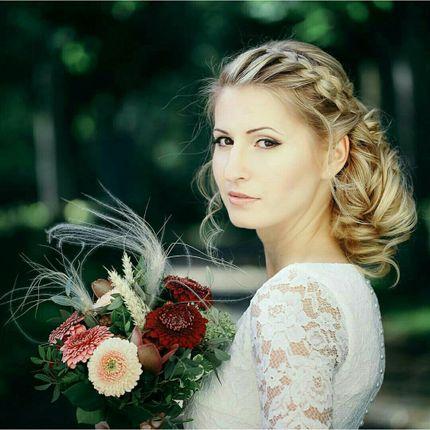 Свадебный образ: причёска и макияж