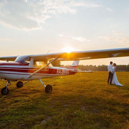 Аренда самолёта для фотосессии