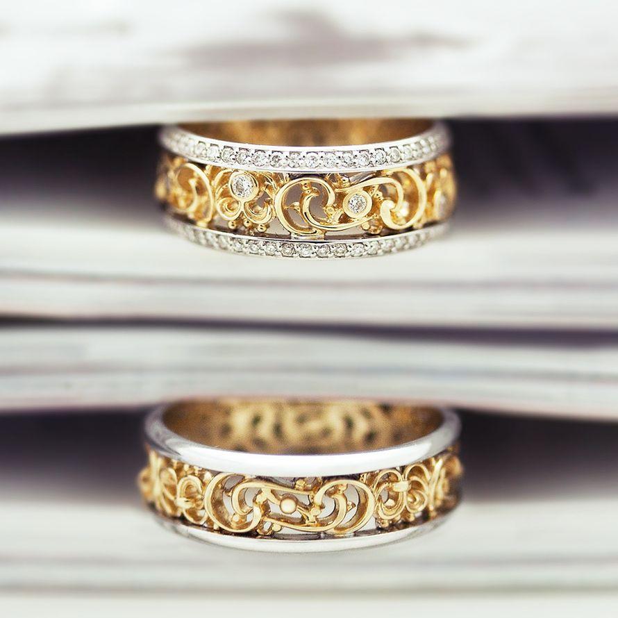 Обручальные кольца, арт. VGOK0157