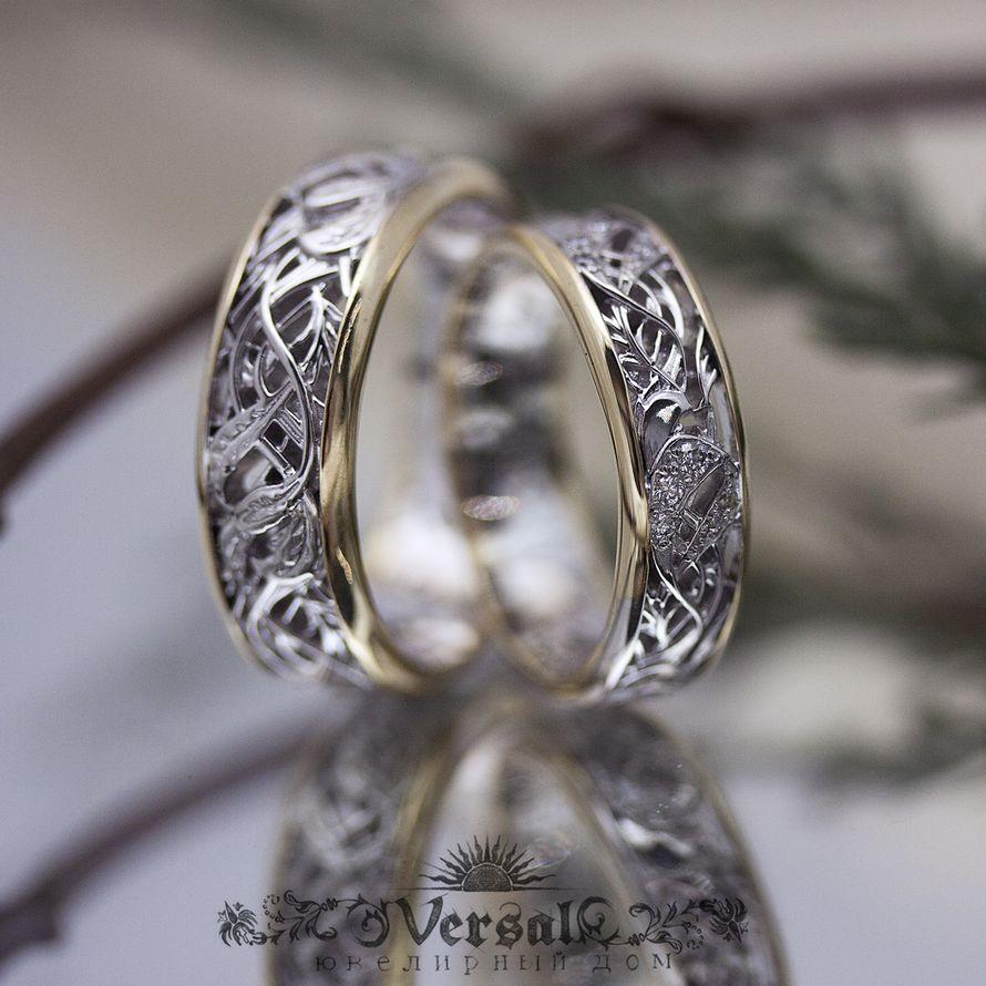 Обручальные кольца, арт. VGOK0165