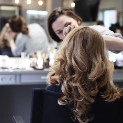 Пробный свадебный макияж и причёска