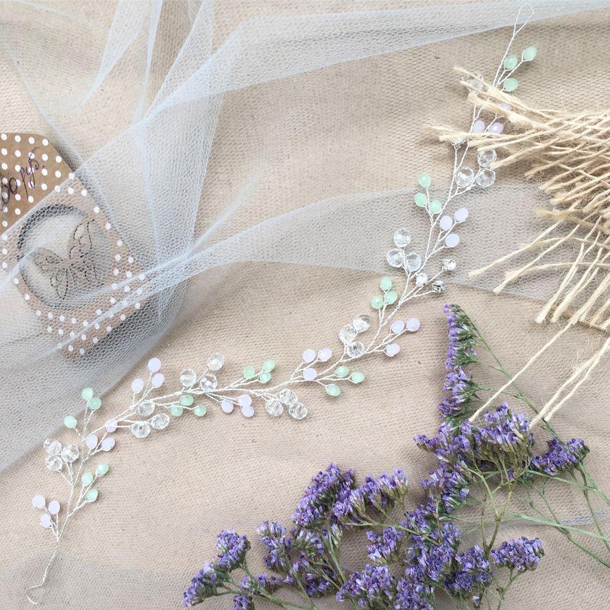 Фото 15028488 в коллекции Свадебные украшения - Bead brad accessories - свадебные украшения