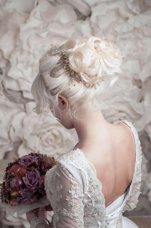 Model  - фото 15029988 Bead brad accessories - свадебные украшения