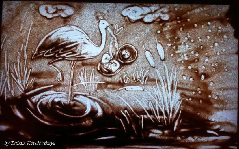 Фото 14913818 в коллекции Песочные картины - Песочное шоу Magicsand