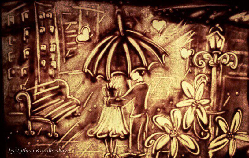 Фото 14913830 в коллекции Песочные картины - Песочное шоу Magicsand