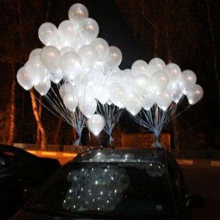 Гелиевые светодиодные шары, цена за 1 шт