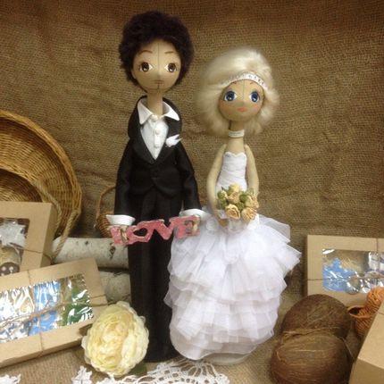 Свадебные куклы для украшения