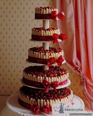 Фото 50667 в коллекции Тортики - Вашкетова Юлия - организатор свадеб, флорист.