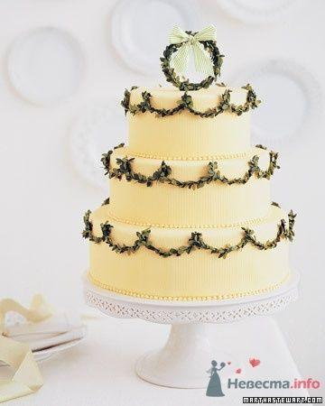 Фото 50680 в коллекции Тортики - Вашкетова Юлия - организатор свадеб, флорист.