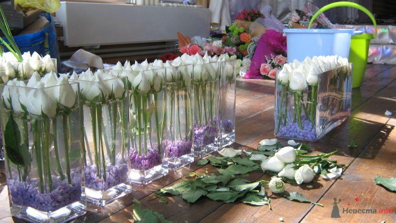 Флористическое оформление свадьбы - фото 70963 Вашкетова Юлия - организатор свадеб, флорист.