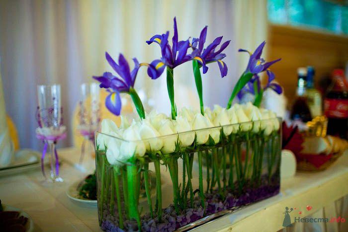 Флористическое оформление свадьбы.  - фото 80324 Вашкетова Юлия - организатор свадеб, флорист.