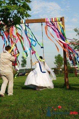 Фото 102402 в коллекции Портфолио. Свадьба Ольга и Александр. 15.05.2010 - Вашкетова Юлия - организатор свадеб, флорист.