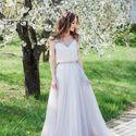 Свадебное платье: Аметист. Дизайнеры: Александра Примера и Людмила Одайник.