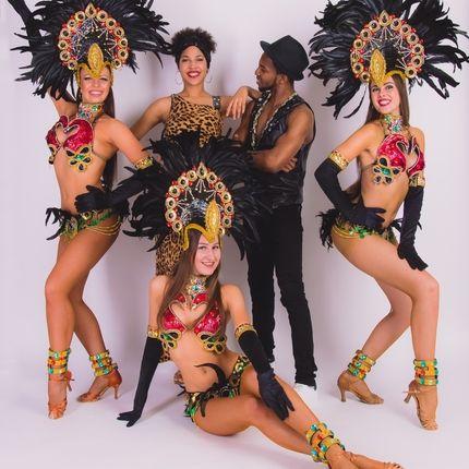 """Вокально-танцевальное шоу """"Rio brazil"""""""