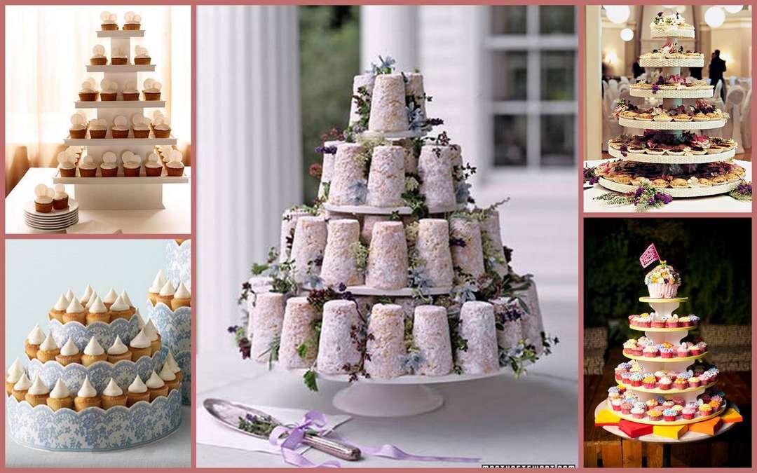 недавнего свадебные пирожные вместо торта рецепты с фото бесплатные